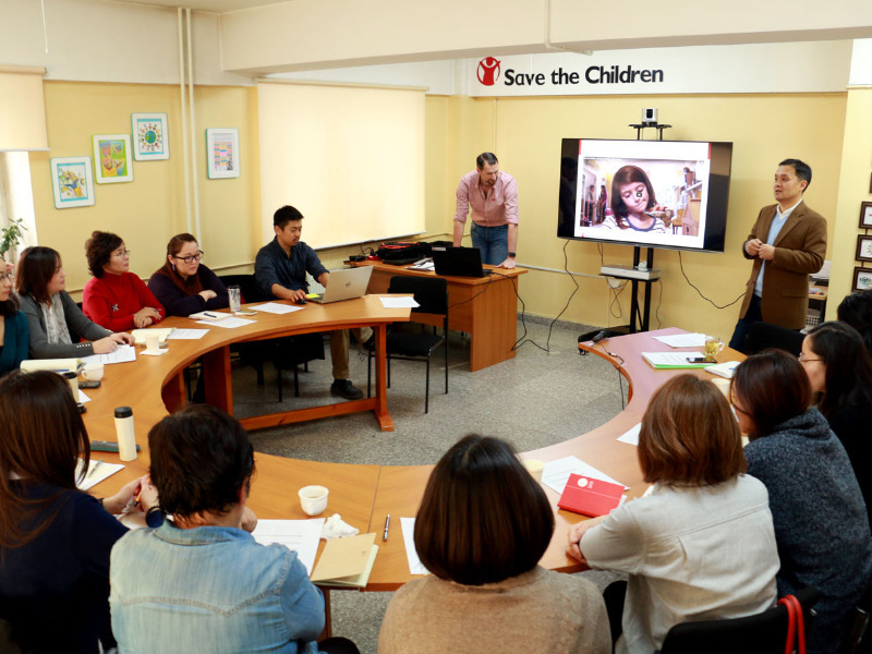 Resource Center provides methodological services for child protection specialists ©Save the Children