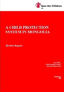 A Child protection system in Mongolia
